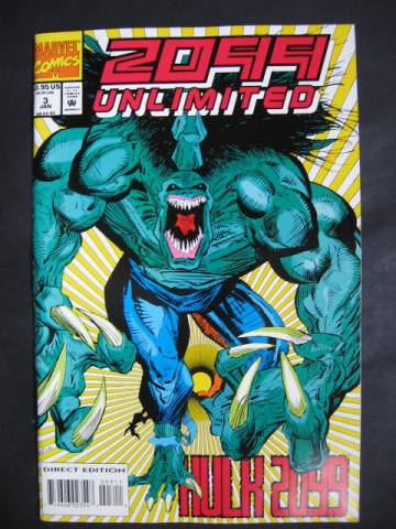 2099 Unlimited #3 Hulk