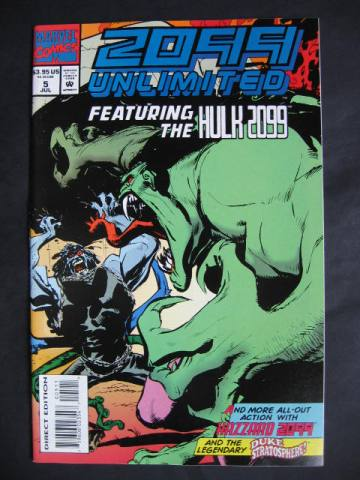 2099 Unlimited #5 Hulk