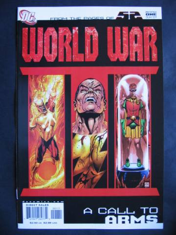 52: World War III #1-4 Complete mini-series