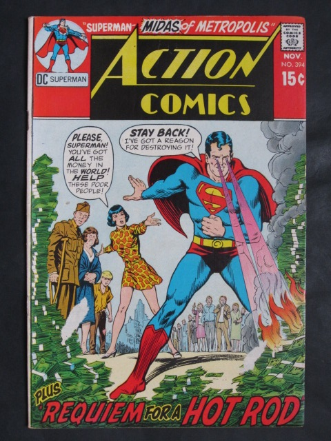 Action Comics #394 VF