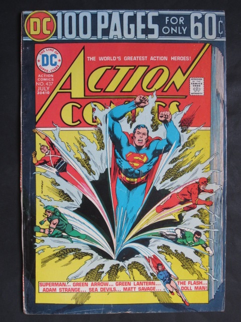 Action Comics #437 Giant 100 pages