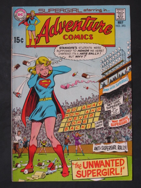 Adventure Comics #393 Supergirl