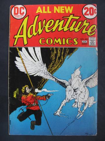 Adventure Comics #425 Captain Fear FN/FN+