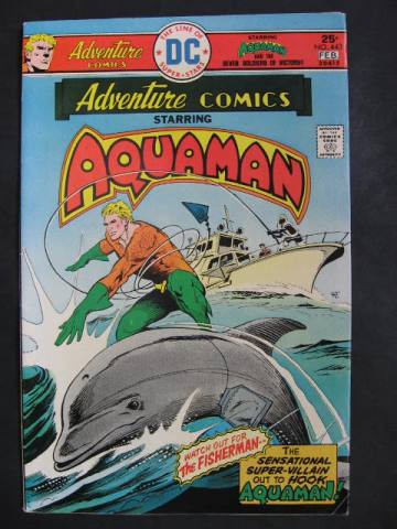Adventure Comics #443 Aquaman