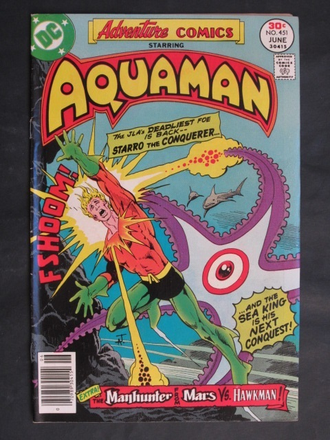 Adventure Comics #451 Aquaman