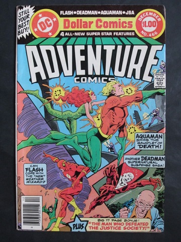Adventure Comics #466 Giant-sized VG/FN