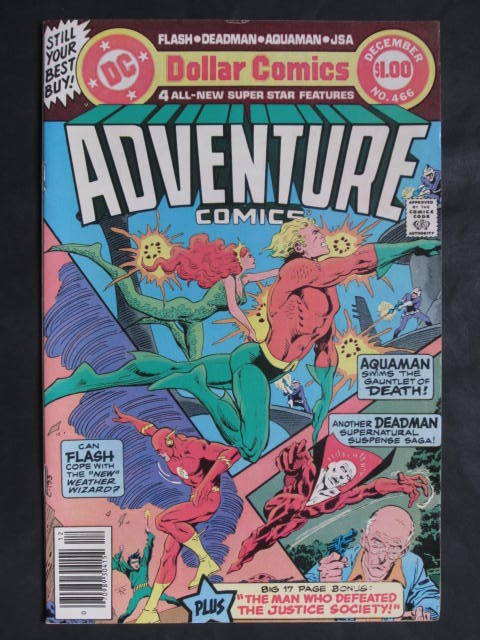 Adventure Comics #466 Giant-sized
