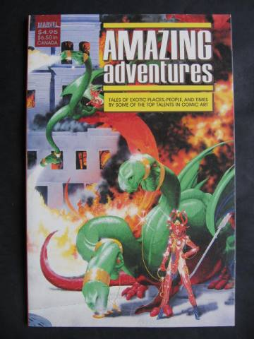 Amazing Adventures Anthology