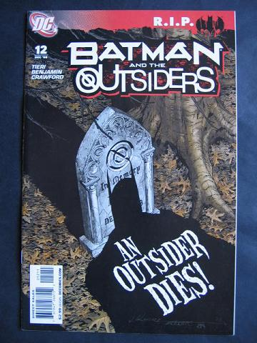 Batman and The Outsiders (2007 series) #12