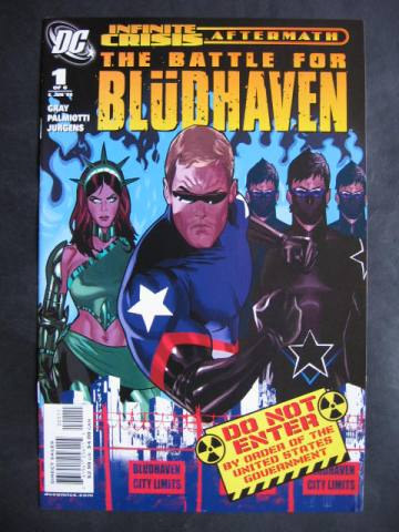 Battle For Bludhaven #1-6 Complete mini-series