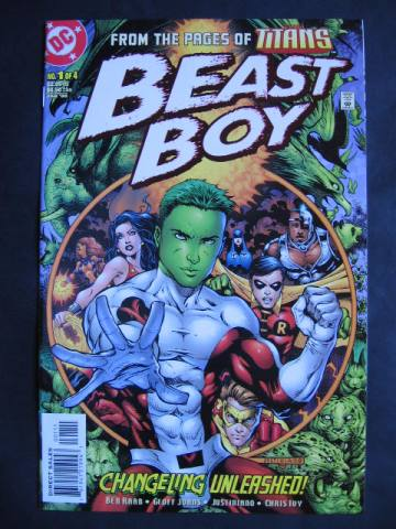 Beast Boy #1-4 Complete mini-series
