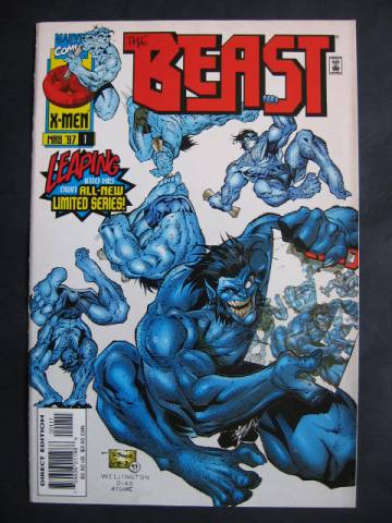 The Beast #1-3 Complete mini-series