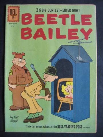 Beetle Bailey (1953 series) #34