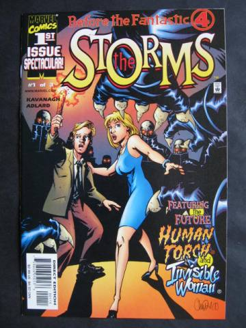Before The FF: The Storms #1-3 Complete mini-series