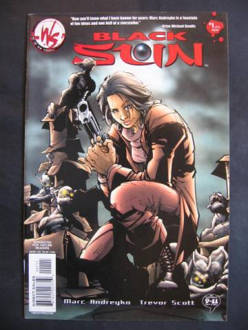 Black Sun #1-6 Complete mini-series