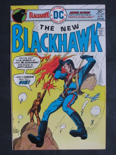 Blackhawk (1944 series) #245