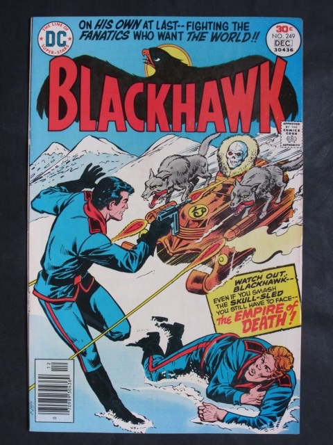 Blackhawk (1944 series) #249