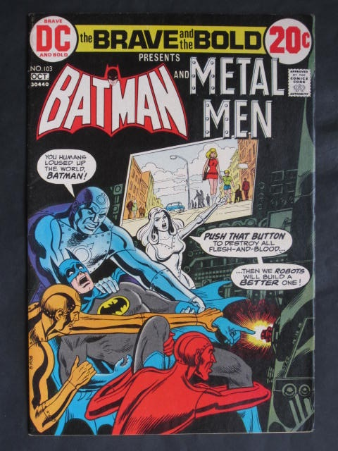 The Brave and The Bold #103 Batman and Metal Men