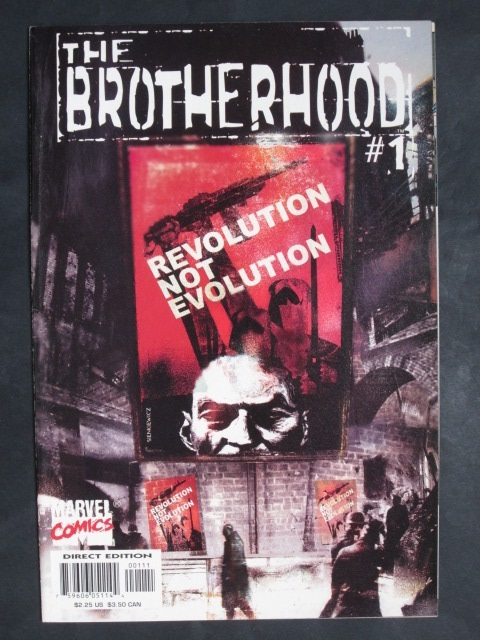 The Brotherhood #1-9 Complete mini-series