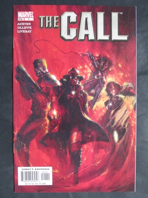 The Call #1-4 Complete mini-series