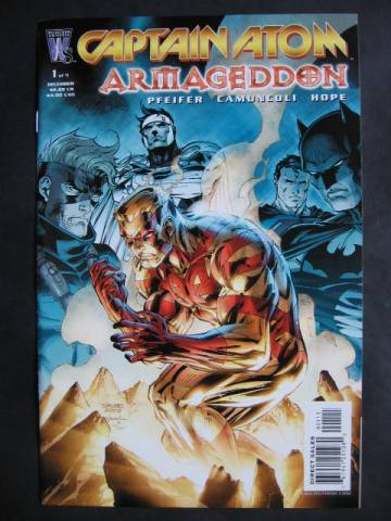 Captain Atom: Armageddon #1-9 Complete mini-series