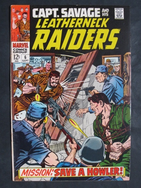 Captain Savage and His  Leatherneck Raiders  #6