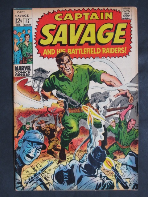 Captain Savage and His Battlefield Raiders #12
