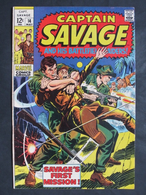 Captain Savage and His Battlefield Raiders #14