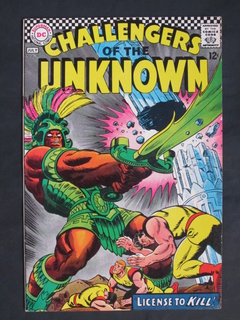 Challengers of the Unknown #56