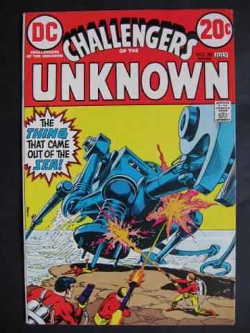 Challengers of the Unknown #80