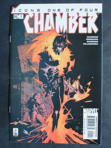 Chamber (of The X-Men) #1-4 Complete mini-series