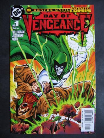 Day Of Vengeance #1-6 Complete mini-series (A)
