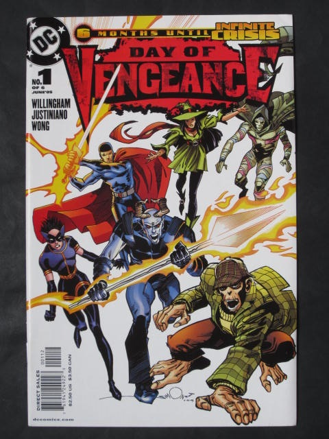 Day Of Vengeance #1-6 Complete mini-series (B)