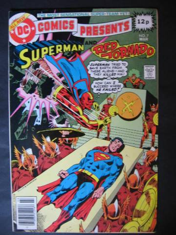 DC Comics Presents  #7 Superman and Red Tornado (P)