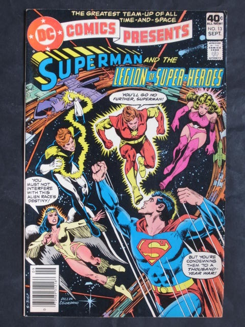 DC Comics Presents #13 Superman and Legion Of Super-Heroes FN