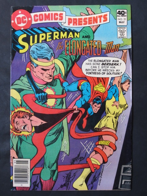 DC Comics Presents #21 Superman and Elongated Man