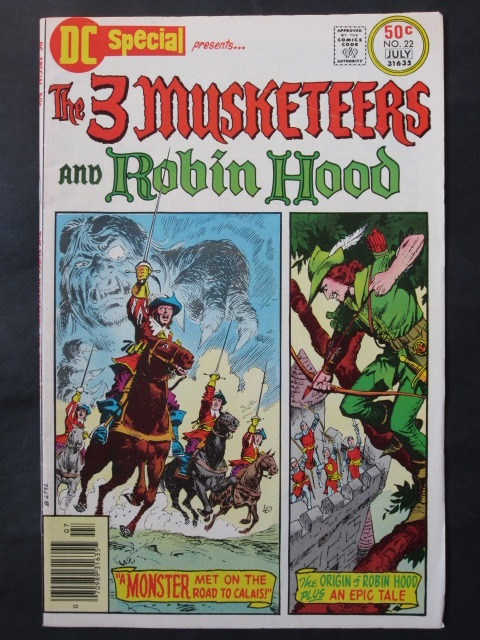 DC Special #22 Three Musketeers and Robin Hood