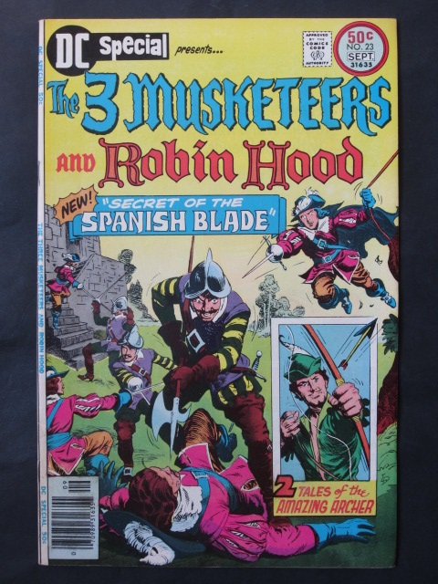 DC Special #23 Three Musketeers and Robin Hood