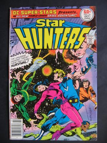 DC Super-Stars #16 Star Hunters