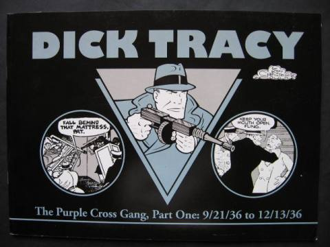 Dick Tracy  #1-2: The Purple Cross Gang - Set of 2 comics