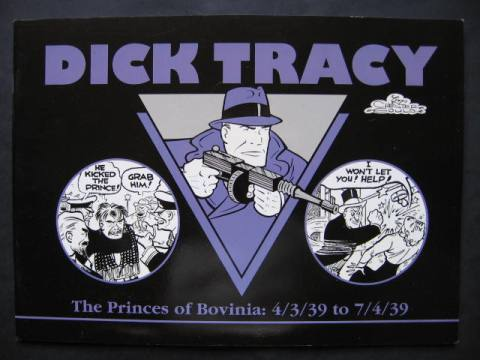 Dick Tracy #10: The Princes Of Bovinia