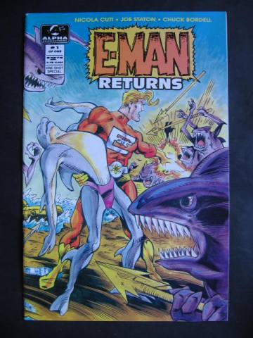 E-Man Returns #1