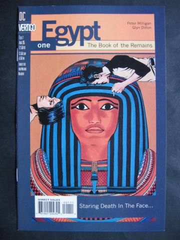 Egypt #1-7 Complete mini-series