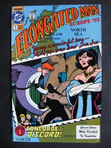 Elongated Man #1-4 Complete mini-series