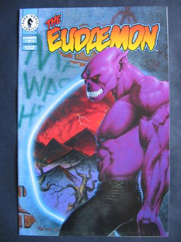 Eudaemon #1-3 Complete mini-series