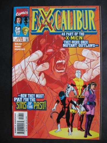 Excalibur (1988 series) #116