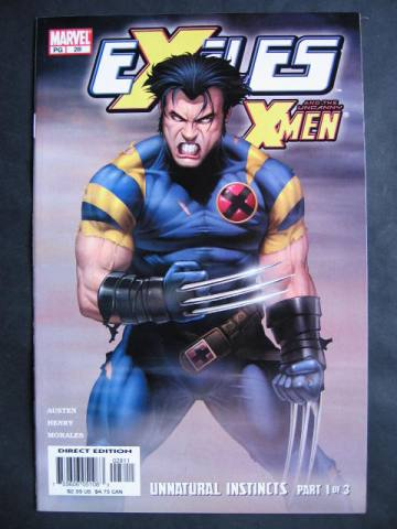 Exiles (2001 series) #28-30 Set of 3 comics X-Men