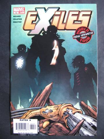 Exiles (2001 series) #72-74 Set of 3 comics