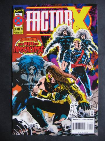 Factor-X #1-4 Complete mini-series