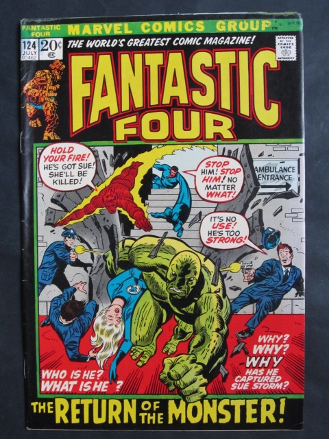 Fantastic Four (1961 series) #124